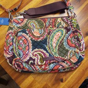 Vera Bradley Carson Shoulder Bag Heirloom Paisley